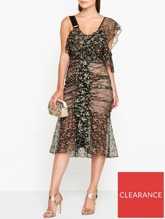 559e778b088 ALICE MCCALL Nobody But You Lace Dress - Black gold