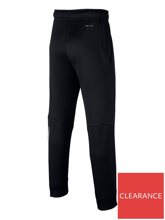 f7ca9803b733 Nike Older Boys Therma Pant GFX - Black