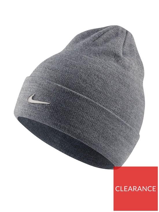 656883a1b601a Nike Youth Metal Swoosh Beanie - Grey