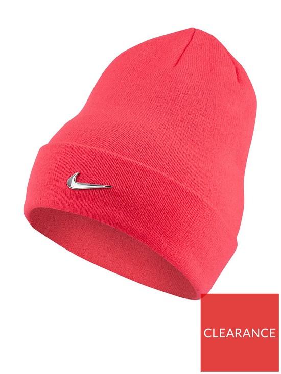 Nike Youth Metal Swoosh Beanie - Pink  31df3f14f5c