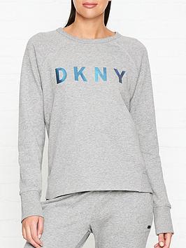 dkny-logo-print-long-sleeve-sweatshirt-greyblue