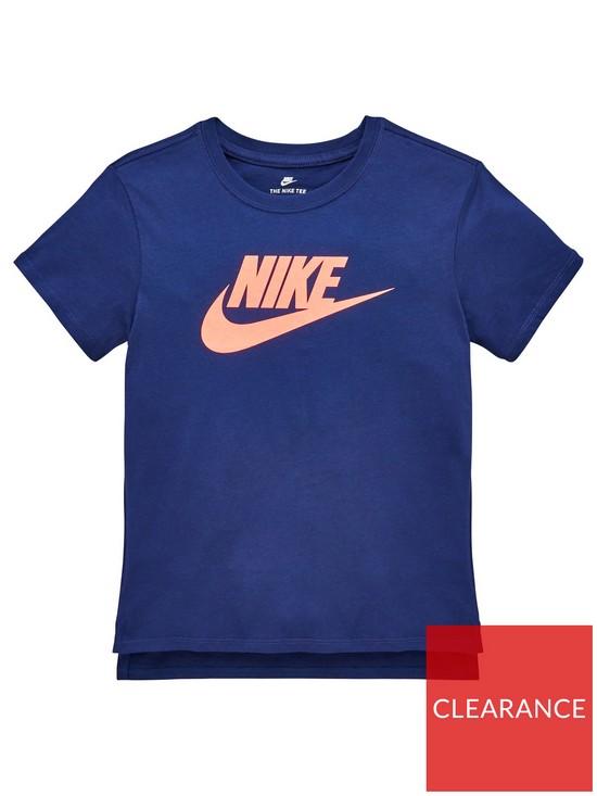 9ad027fb1c43 Nike Older Girls Nsw Hilo Futura 2 Tee