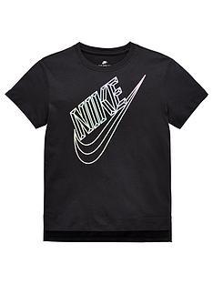 nike-sportswear-older-girlsnbspfaceted-futura-tee-blacknbsp