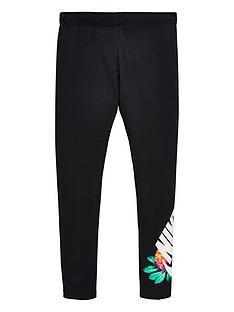 nike-older-girls-sportswearnbspfavorites-glow-tights-black