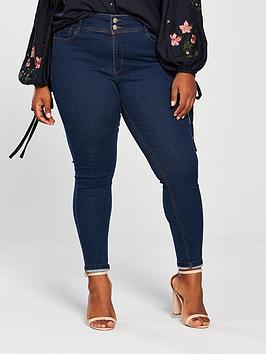 V By Very Curve Body Sculpt High Rise Skinny Jean