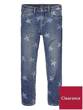 tommy-hilfiger-unisex-star-print-jeans-denim-blue