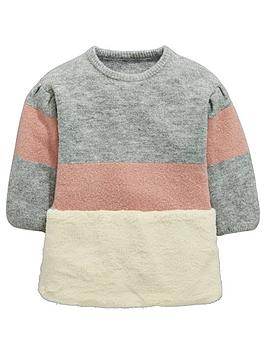 mini-v-by-very-girls-colour-block-faux-fur-tunic-multi