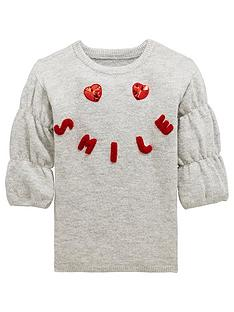 mini-v-by-very-sequin-heart-knitted-dress
