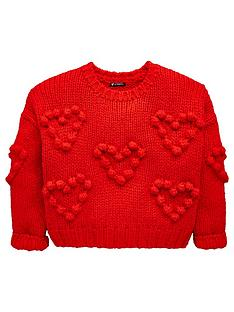 mini-v-by-very-girls-pom-pom-heart-knit-jumper