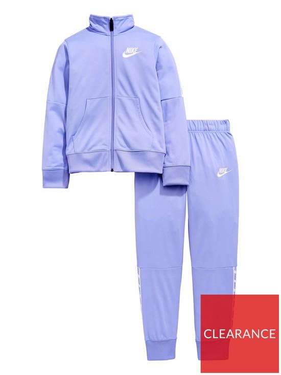 e1306dd58ae5 Nike Sportswear Older Girls Tricot Tracksuit - Purple