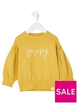river-island-mini-girls-balloon-sleeve-sweatshirt