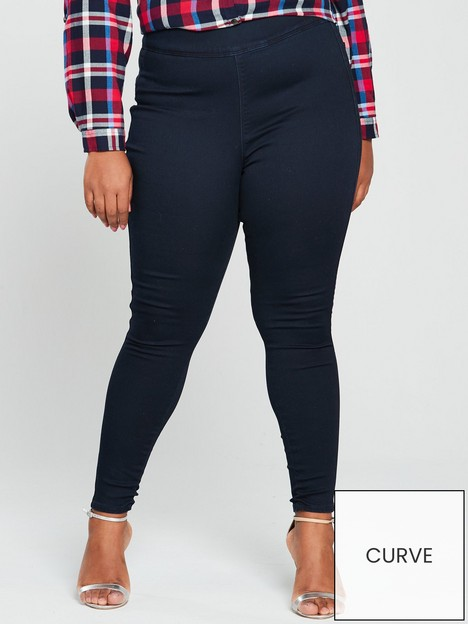 v-by-very-curve-valuenbsphigh-waisted-jegging-indigo