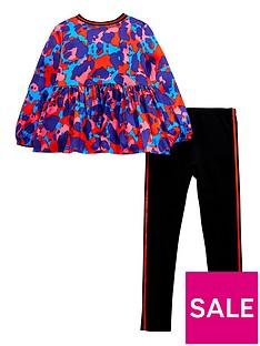 mini-v-by-very-animal-blouse-amp-legging-set