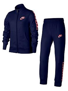 nike-sportswear-older-girlsnbsptricot-tracksuit-navypinknbsp