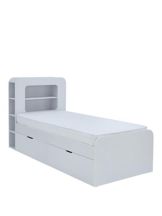 Aspen Single Storage Bed With Optional Mattress