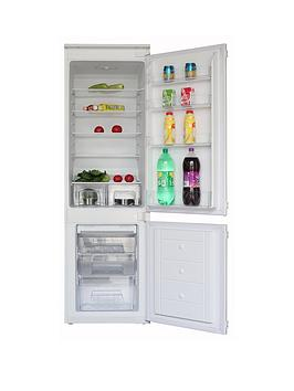 Swan Srb15440F 55Cm Wide Frost-Free Integrated Fridge Freezer Best Price, Cheapest Prices