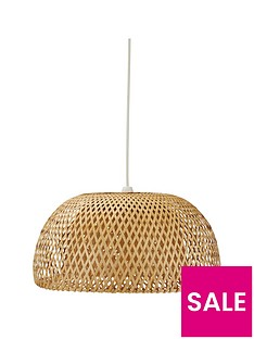 ideal-home-willow-easy-fit-pendant-lightshade