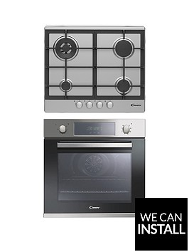 candy-fcp605-cpg64-60cm-singlenbspoven-amp-gas-hob-pack-with-optional-installation-stainless-steel