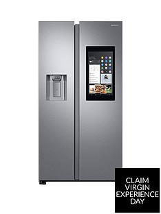 Samsung RS68N8941SL/EU Family Hub Style Frost Free Fridge Freezer with Plumbed Ice and Water Dispenser - Aluminium Finish