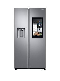 Samsung RS68N8941SL/EU Family Hub Style Frost Free Fridge Freezer with Plumbed Ice and Water Dispenser - Aluminium Finish, 5 Year Samsung Parts and Labour Warranty