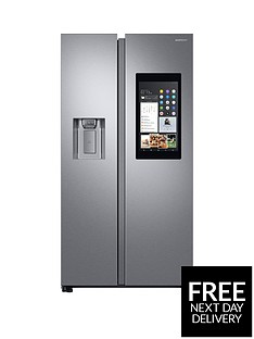 samsung-rs68n8941sleu-family-hub-style-frost-free-fridge-freezer-with-plumbed-ice-and-water-dispenser-aluminium-finishnbsp5-year-samsung-parts-and-labour-warranty