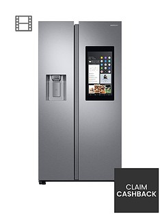 samsung-rs68n8941sleu-family-hub-style-frost-free-fridge-freezer-with-plumbed-ice-water-dispensernbsp-nbspaluminium-finish