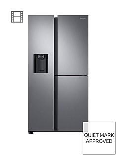 samsung-rs68n8670s9eu-french-door-frost-free-fridge-freezer-with-plumbed-ice-water-dispenser--nbspmatt-silver