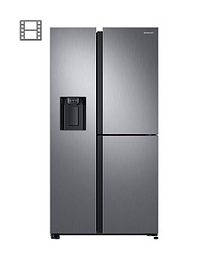 samsung-rs68n8670s9eu-french-door-frost-free-fridge-freezer-with-plumbed-ice-water-dispenser-and-5-year-samsung-parts-and-labour-warranty--nbspmatt-silver