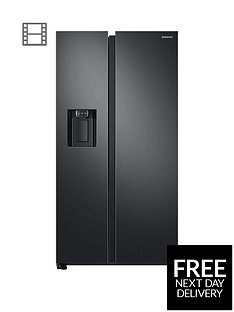 samsung-rs68n8230b1eu-america-style-frost-free-fridge-freezer-with-plumbed-water-andnbspice-dispenser-blacknbsp5-year-samsung-parts-and-labour-warranty