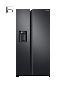 samsung-rs68n8230b1eu-american-style-frost-free-fridge-freezer-with-plumbed-water-ice-dispenser-andnbsp5--year-samsung-parts-and-labour-warranty-black