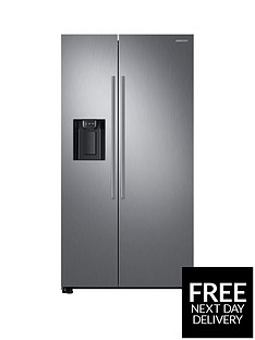 samsung-rs67n8210s9eu-america-style-frost-free-fridge-freezer-with-plumbed-water-and-ice-dispenser-matt-silver-5-year-samsung-parts-and-labour-warranty