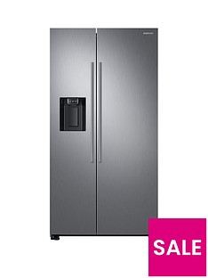 Samsung RS67N8210S9/EU America Style Frost-Free Fridge Freezer with Plumbed Water and Ice Dispenser - Matt Silver