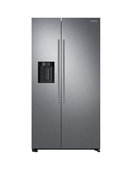 Samsung Rs67N8210S9/Eu America Style Frost-Free Fridge Freezer With Plumbed Water, Ice Dispenser And 5 Year Samsung Parts And Labour Warranty - Matt Silver
