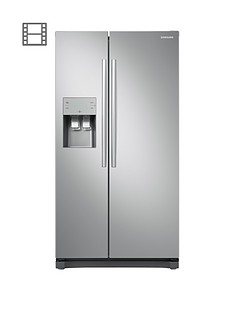 samsung-rs50n3513saeu-american-style-frost-free-fridge-freezer-with-plumbed-water-ice-dispenser-and-5-year-samsung-parts-and-labour-warranty--nbspgraphite