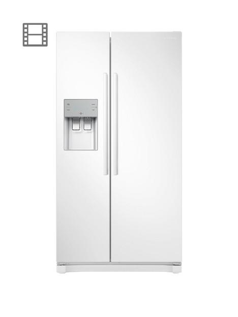samsung-rs50n3513wweu-america-style-frost-free-fridge-freezer-with-plumbed-water-ice-dispensernbsp--white