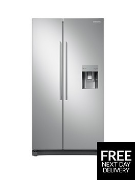 samsung-rs52n3313saeu-america-style-frost-free-fridge-freezer-with-non-plumbed-water-dispenser-graphite-5-year-samsung-parts-and-labour-warranty
