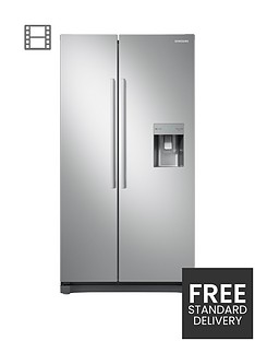 samsung-rs52n3313saeu-american-style-frost-free-fridge-freezer-with-non-plumbed-water-dispensernbsp-nbspgraphitenbsp