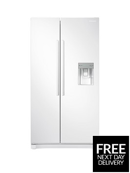 samsung-rs52n3313wweu-america-style-frost-free-fridge-freezer-with-non-plumbed-water-dispenser-whitenbsp5-year-samsung-parts-and-labour-warranty