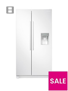 samsung-rs52n3313wweu-america-style-frost-free-fridge-freezer-with-non-plumbed-water-dispensernbsp-nbspwhite
