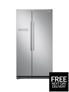 Samsung RS54N3103SA/EU America Style Frost Free Fridge Freezer with All-Around Cooling - Graphite