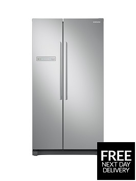 samsung-rs54n3103saeu-america-style-frost-free-fridge-freezer-with-all-around-cooling-graphite
