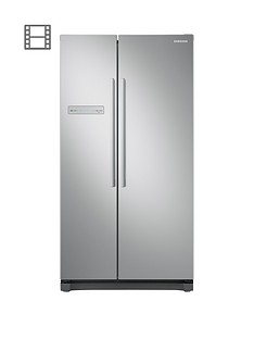 Samsung RS54N3103SA/EU American Style Frost Free Fridge Freezer with All-Around Cooling - Graphite Best Price, Cheapest Prices