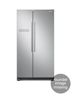 Samsung RS54N3103SA/EU American Style Frost Free Fridge Freezer with All-Around Cooling and 5 Year Samsung Parts and Labour Warranty - Graphite