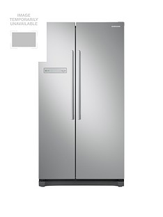 Samsung RS54N3103SA/EU American Style Frost Free Fridge Freezer with All-Around Cooling and 5 Year Samsung Parts and Labour Warranty - Graphite Best Price, Cheapest Prices