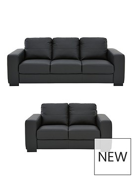 mortonnbspreal-leatherfaux-leather-3-seater-2-seater-sofa-set-buy-and-save