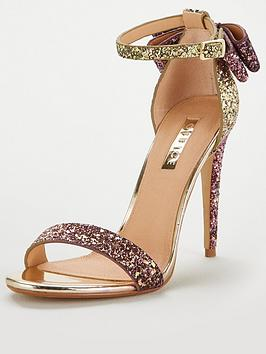 Office Harriet Two Part Sandal - Gold