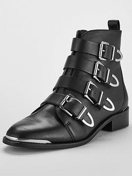Office Archive Ankle Boot - Black