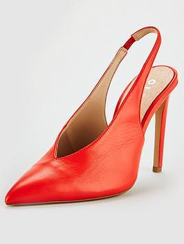Office Hix Slingback Heel - Orange