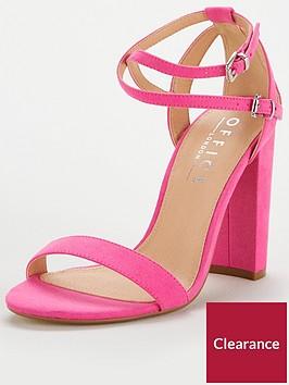 office-habana-strappy-heeled-sandal-pink