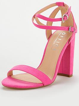 Office Habana Strappy Heeled Sandal - Pink